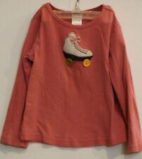 Gymboree Pink Roller Skate Long Sleeved Top Shirt 4
