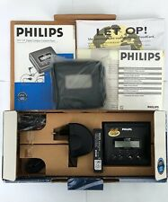 Rare! Philips DCC134 Digital Compact Cassette, restored! In original box.