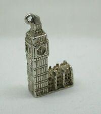 Vintage Solid Silver Big Ben Charm