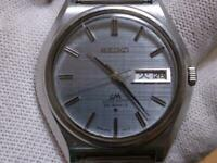 Vintage Seiko Lord Matic LM 5606-7010 Automatic 25Jewels Mens Watch