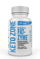 Dr Colbert Divine Health Keto Zone FAT ZYME Ketogenic Digestive Enzymes, 60 caps