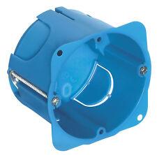 Scatola incasso VIMAR rotonda cartongesso 1-2 moduli V71701 azzurro