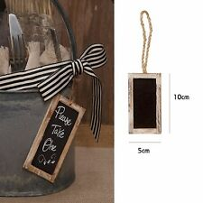 1x Rustic Chalkboard Blackboard Wedding Candy Lolly Sign Place Card Gift Tag