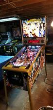 Stern Wwe Wrestlemania Limited Edition Pinball Machine Only 400 Made!Hulk Hogan!
