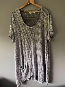 VIRTUELLE  Long Tunic Top/Dress Size M Casual Workwear