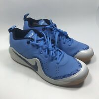 Nike Zoom Force Mike Trout 4 Turf sapatos de beisebol Unc Camuflagem Azul 917838-440