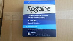 Rogaine 100% Genuine Extra Strength 5% Solution Direct from USA