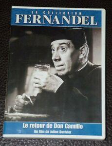 DVD-Le RETOUR de Don CAMILLO-Julien DUVIVIER-FERNANDEL