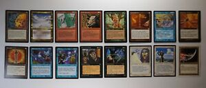 Lot of 16 MTG Rare+ Cards - Phyrexian Portal, Winter's Night + more NM to LP