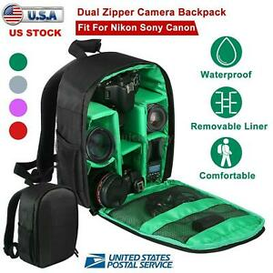 Outdoor DSLR Digital Camera Backpack Waterproof Case for Canon/Nikon/Sony DSLR