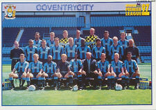 N°109 - 110 COVENTRY CITY.FC TEAM Premier League 1997 MERLIN STICKER VIGNETTE