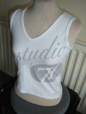 """LADIES NIKE """"STUDIO 71"""" SPORTS FITNESS TOP - SMALL - NEW WITH TAGS"""