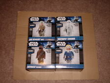 MEDICOM STAR WARS KUBRICK DX2 SERIES 2 HAN SNOWTROOPER LUKE CHEWBACCA SET OF 4