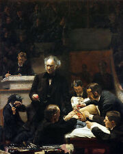 Thomas Eakins-LA CLINICA LORDI-In tela 24'