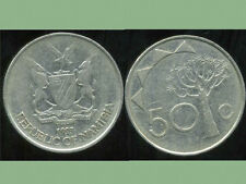 NAMIBIE  50 cents   1993