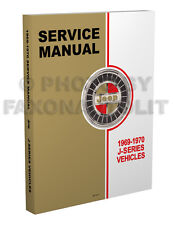 1969-1970 Jeep Gladiator and Wagoneer Shop Manual Repair Service Pickup Truck