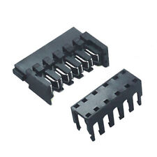 10 X 90 Degrees Sata Power Connector With 3 End & 7 Pass Thru Caps Shakmods UK