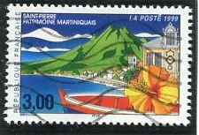 TIMBRE FRANCE OBLITERE N° 3244 SAINT PIERRE MARTINIQUE / Photo non contractuelle