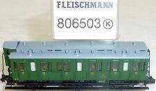 FS 3achs Abteilwagen 3teKl Epiii Nem Kkk Fleischmann 806503 N 1:160 Neuf #HS3 Μ