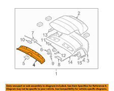 BMW OEM 03-08 Z4 Convertible/soft Top-Front Cover 54317056282
