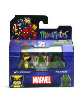 Marvel Minimates Wolverine & Reaper TRU Series 16 Toys R US Figures New In Box