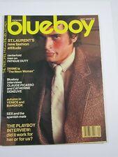 Blueboy Magazine Gay Interest;Male Nudes September 1978 #24 St. Laurent-Divine