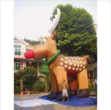 26' Inflatable Reindeer Christmas Holiday Decoration Most Popular Design my#