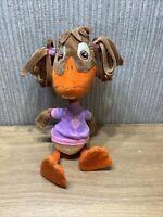 "Disney Chicken Little Plush Rare Soft Toy Collectable 10"" Abby Mallard Duck"
