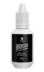 Bronsun 3% Milk Cream Developer Hybrid Tint Oxidant