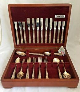 CORONATION Design ONEIDA COMMUNITY Silver Service 72 Pc Canteen of Cutlery   K12