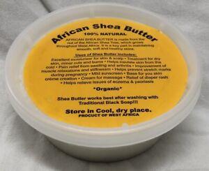100% RAW Pure AFRICAN SHEA BUTTER Unrefined Organic GHANA 16 oz / 1 Lb / 453 g