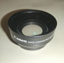 CANON WIDE ANGLE CONVERTER WD-58 0.7 x 58 LENS 58mm THREAD