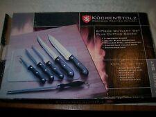 NEW, NEVER USED, KUCHENSTOLZ 6-PIECE CUTLERY SET KITCHEN KNIVES