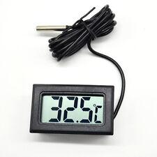LCD Digital Fish Reptile Aquarium Water Tank Thermometer Temperature Device