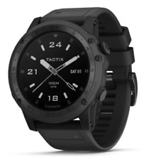 Garmin Tactix Charlie Multisport GPS Watch Sapphire Edition - Black