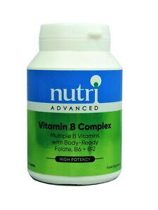 Nutri Adv Vitamin B Complex 90 Tablets