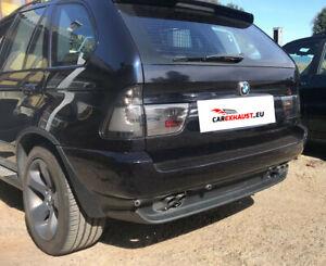 Silencieux Arriere pour BMW X5 (E53) 3.0 D échappement