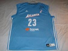 Shoni Schimmel 23 Autograph Atlanta Dream adidas WNBA Blue Jersey Men's XL used