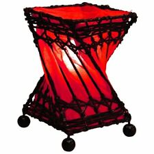 Bali Lampe 20 cm , Laxmi Lampe, Tischlampe, Asia Lampe, Stimmungs Lampe