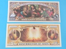 JESUS CHRIST & Apostles LAST SUPPER Holy Bible  ~ $1,000,000 One Million Dollars