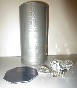 Swarovski Crystal Figurine Large Mother Beaver 164637 +Box + COA Mint!