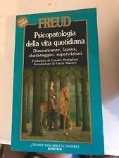FREUD - PSICOPATOLOGIA DELLA VITA QUOTIDIANA - NEWTON 1990