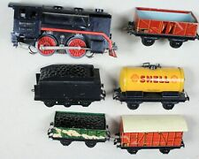 Toy Train Set Boxed Freight-TRIX Express N Scale Engine 20053 Tin Litho-30s-NTCX