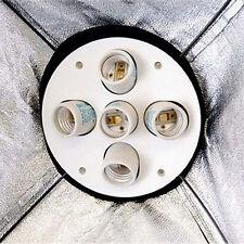 Photo Studio 1000Wcontinuous Lighting 5 Head Bulb Holder Softbox Light Socket