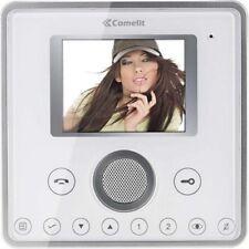 Comelit 6101W Planux Hands-Free Colour Monitor, White