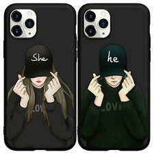 Boy Girly Hip Hop Couple Soft Phone Case for iphone 11 Pro Max XS XR 6 7 8+ SE2