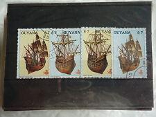 GUYANA - Bateaux, voiliers - 1987 - B1