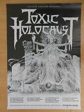 TOXIC HOLOCAUST  2014  orig.Concert-Konzert-Tour Poster  84 x 60 cm NEU