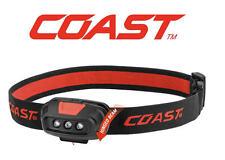 Coast Fl14 37 Lumens doble color linterna de cabeza con 2x pilas AAA