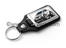 WickedKarz Cartoon Car Vauxhall Mokka Mini SUV in White Key Ring